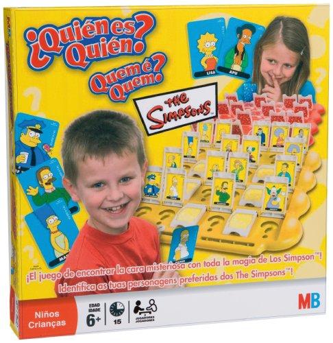 Hasbro Juego de Mesa - ¿quién es quién? Simpsons