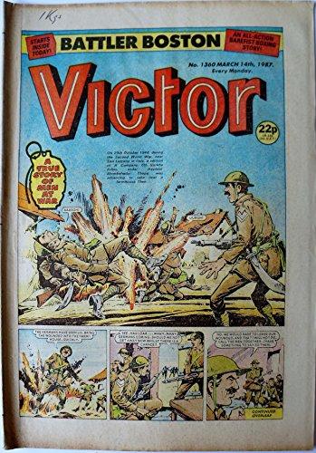 Vintage Rare Victor Weekly Comic Magazine No. 1360 Boys Comic Every Monday...