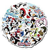 20 PCS Stickers Pack Chilly Aesthetic Willy Vinyl Colorful Waterproof for Water Bottle Laptop Bumper Car Bike Luggage Guitar Skateboard