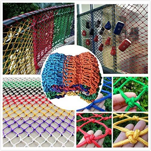 Segura neto Balcón Protección red colorida decoración neto, neto de Seguridad for Niños, Cuerda Net, red de protección, Construcción neto, cerca red, for el balcón ventana cerca del jardín columpio in