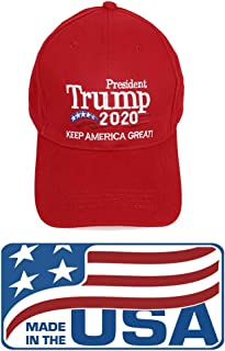 Mersinni Trump 2020 Winner HAT Keep America Great Cap President Election Embroidered Hats Made in USA