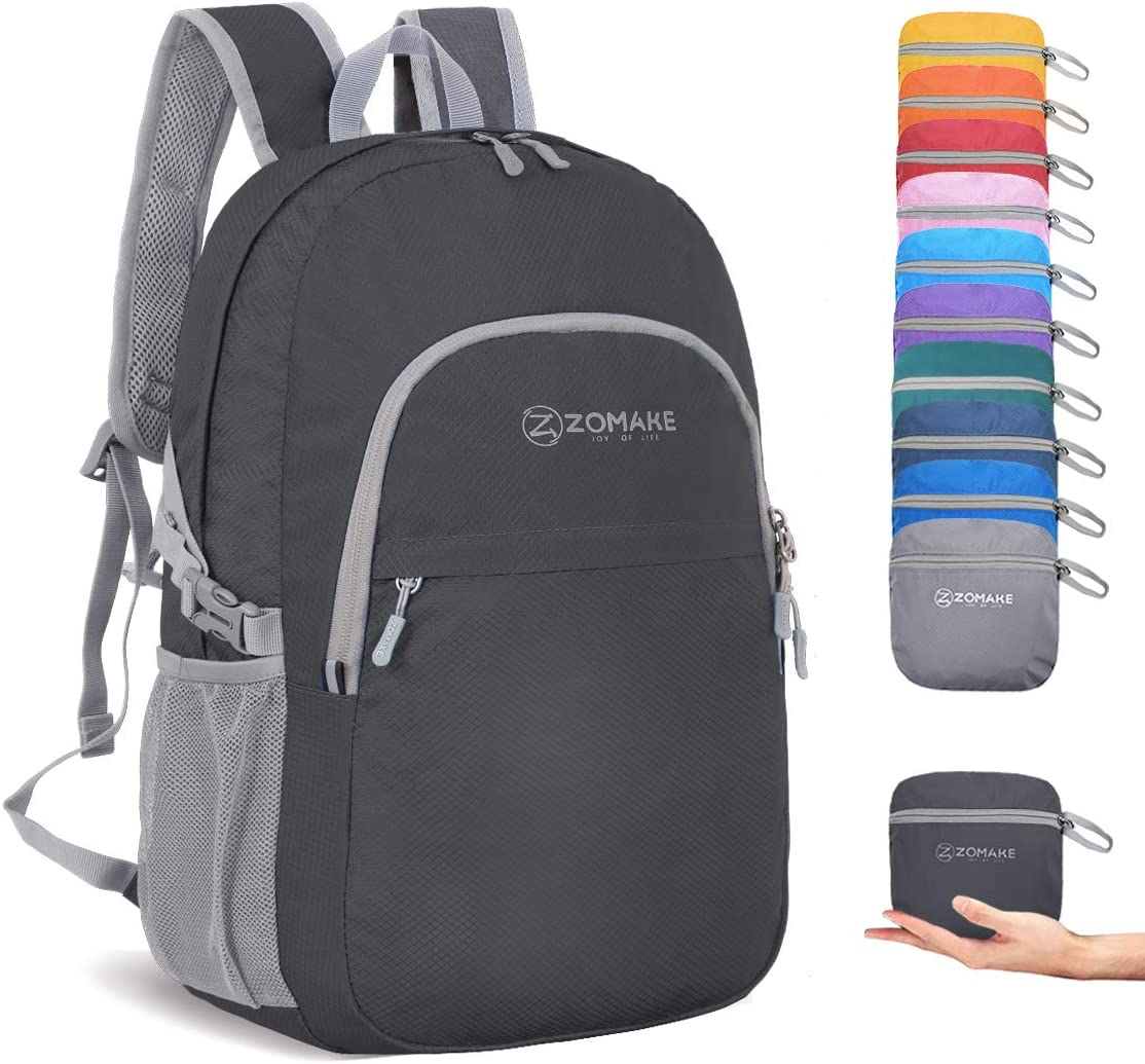 ZOMAKE Packable Bombing new work Special sale item Backpack Bag Small Water Resistant C Lightweight