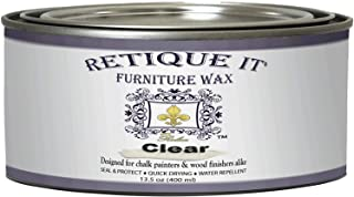 Retique It Furniture Wax Polish - Clear Wax (13.5oz)