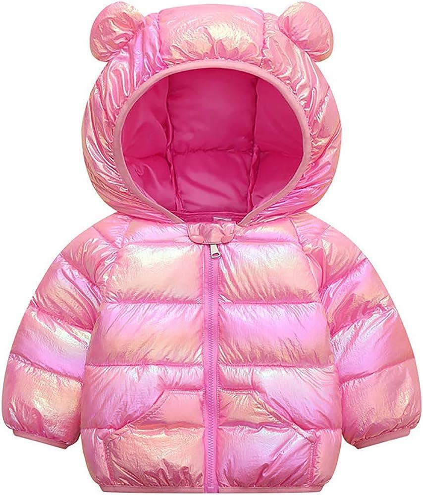 Baby Boys Girls 2021new shipping free shipping Winter Tulsa Mall Coats Hoods Down Jacket Puffer Light Outw