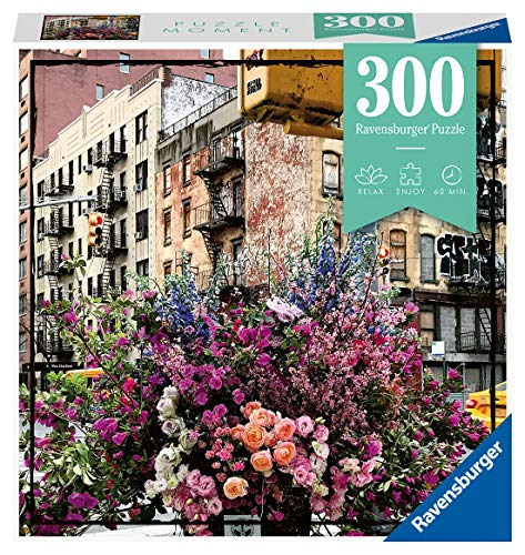 Ravensburger Puzzle 12964 Flowers in New York - 300 Teile Puzzle für Erwachsene und Kinder ab 14 Jahren