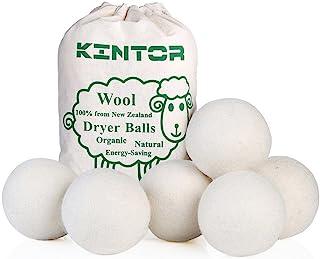 KINTOR Wool Dryer Balls XL 6 Pack 2.95