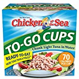 Chicken of the Sea Tuna Chunk Light Water Cup, 2.28 Ounce (Pack of 16)