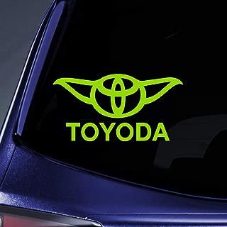 Bargain Max Decals - Toyoda Yoda - Sticker Decal Notebook Car Laptop 5