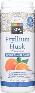 365 Everyday Value, Psyllium Husk Powder, Orange Flavor, 10 oz