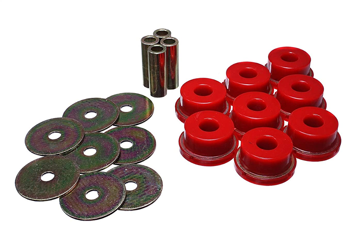 Energy Suspension 19.4102R Rear Subframe Bushing Set