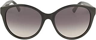 Gucci GG0631S 001 Black GG0631S Cats Eyes Sunglasses Lens Category 3 Size 56mm