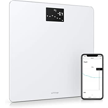 Withings Body - Smart Weight & BMI Wi-Fi Digital Scale with smartphone app