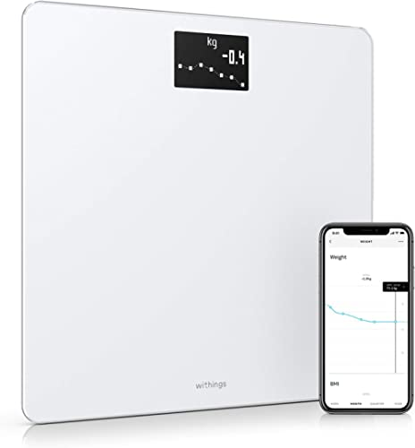 Withings Body – BMI Wi-Fi Scale, White