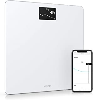 Withings Body - smart Weight & BMI Wi-Fi Digital Scale With Smartphone App, White