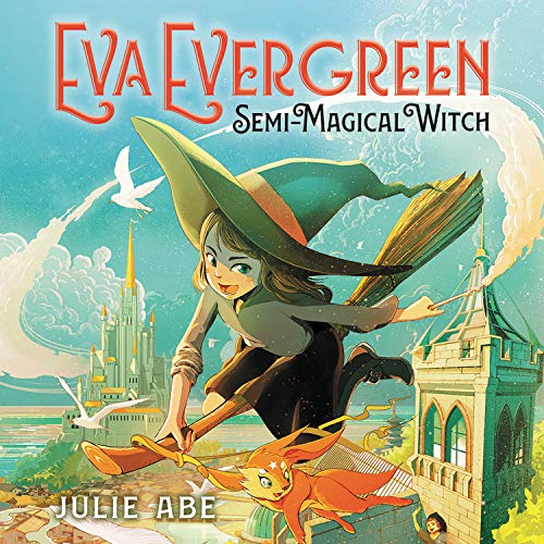 『Eva Evergreen, Semi-Magical Witch』のカバーアート