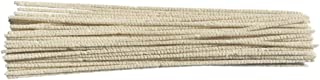 Gas Tube Pipe Cleaners, 12-inches Long, 50 Pack,Great Pipeline Cleaning Cleaning Pipe, Flexible, Robust, Reliable in Quantity and Length, Clean up All Small Pipes and Corners. (12-inches)