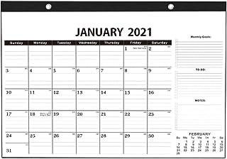 壁掛けカレンダー、2021年壁掛け年次カレンダー日次月次プランナースケジュール年次アジェンダオーガナイザーステーショナリー-パターンA