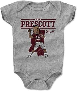 Dak Prescott Mississippi State Bulldogs Baby Clothes & Onesie (3-24 Months) - Dak Prescott Mississippi State Toon