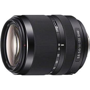 Sony SAL-18135, Zoom-Objektiv (18-135 mm, F3,5–5,6 SAM, A-Mount APS-C, geeignet für A77, A68, A58 Serien)