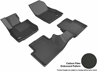 3D MAXpider L1MZ05101509 Complete Set Custom Fit All-Weather Floor Mat for Select Mazda CX-3 Models - Kagu Rubber (Black)
