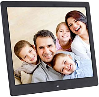 HD IPS Display and USB and SD Card Slots Digital Photo Frame with Remote Control,White 10.1 Inch IPS Display WW/&C Digital Picture Frame