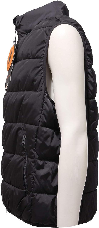 Save The Duck 9344AB Smanicato Uomo Black Ultralight Sleeveless Jacket Men