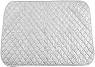 Ironing Mat Magnetic Portable Folding Silver Ironing Cotton Board (21.7×23.6 inch)