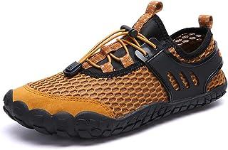 أحذية Oauskatan للرجال المائية في الهواء الطلق المشي الصنادل سريعة الجفاف بيرفوت شبكة الغطس