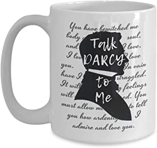 Best talk darcy to me mug Reviews