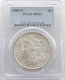 1885 O Morgan Silver Dollar $1 MS64 PCGS