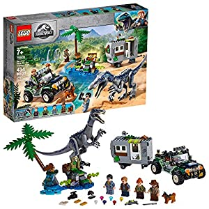 LEGO Jurassic World Baryonyx Face Off: The Treasure Hunt 75935 Building Kit (434 Pieces) - 61pOsfyqShL - LEGO Jurassic World Baryonyx Face Off: The Treasure Hunt 75935 Building Kit (434 Pieces)