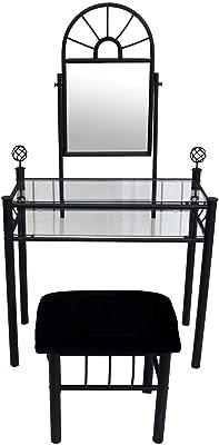 Amazon Com Sunburst Wrought Iron Style Glass 2pc Vanity