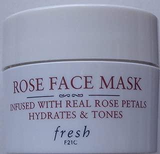 Fresh Rose Face Mask Mini 0.5 oz