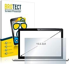 BROTECT Protector Pantalla Anti-Reflejos para Portátiles con 39.6 cm (15.6 Pulgadas) [345 mm x 194 mm, 16:9] Película Mate Anti-Huellas