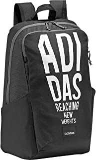 adidas Unisex-Adult Backpack, Black/White - DW9080