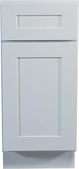 Amazon Com Design House Brookings Unassembled Shaker Base Kitchen Cabinet 18x34 5x24 White 18 Furniture Decor