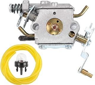 Dxent Carburetor Primer Blub fit Poulan Pro Chainsaw PP5020AV Zama C1M-W47 Carb Parts Kit 573952201 PP5020AV Poulan 573952201 573 95 22-01 Craftsman 358.350980 358.350981 358.350982 Engine Chain Saw