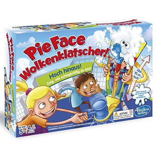 Hasbro Games C2130100 - Pie Face Clouds Clatter, Juego Infantil