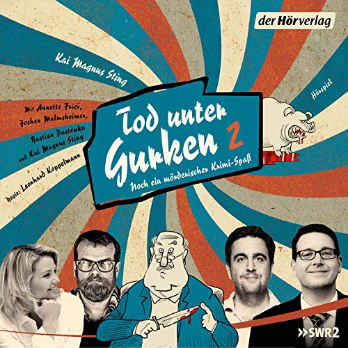Tod unter Gurken 2 audiobook cover art