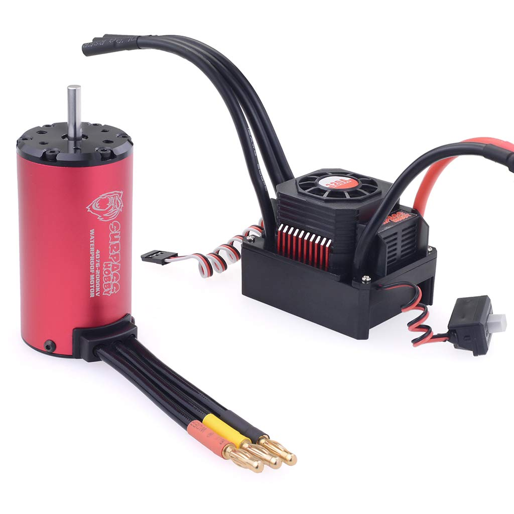 Xiangtat Hobby Wing WP 120A Waterproof 120A ESC Combo with 4