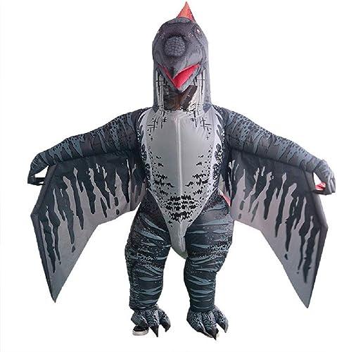 WJHCE Dinosaurier Aufblasbares Kostüm Flugsaurier Bühnen Performance Lustiges Halloween Weißnachten Spiel Cosplay