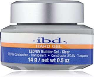 IBD Led Uv Gels Natural Ii 0.5 Ounce Clear