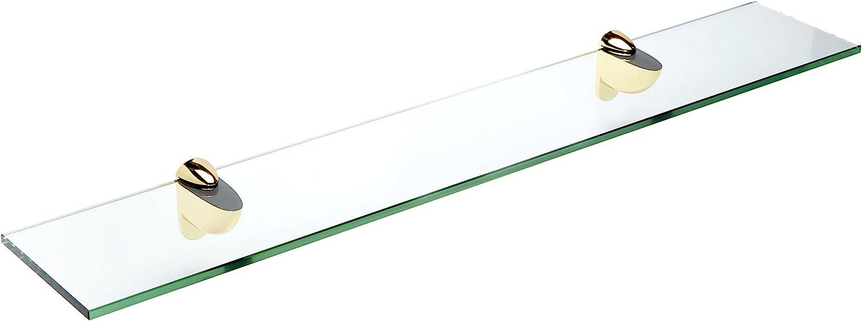Spancraft Glass Heron Shelf 6 Brass Limited time cheap sale x Milwaukee Mall 30