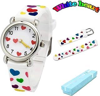 078596af6 Vinmori Kid's Watch,3D Cartoon Pattern Silicone Band Waterproof Quartz Watch  Gift for Children Boys