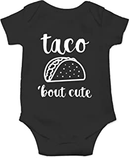 Taco 'Bout Cute - Funny Lil Adorable Tacos Mexican Food Lover - Cute One-Piece Infant Baby Bodysuit