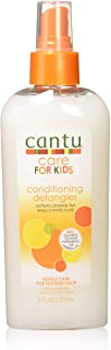 Cantu Care For Kids Conditioning Detangle 6 Ounce Pump (177ml) (2 Pack)