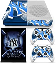 GoldenDeal Xbox One S Console and Wireless Controller Skin Set - MLB - XboxOne S XOS Sticker Vinyl
