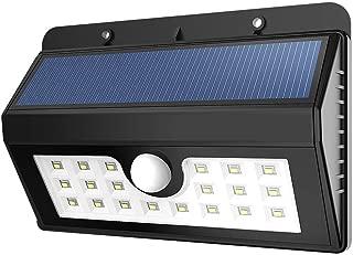 كشاف خارجي للإنارة يعمل بالطاقة الشمسية و استشعار الحركة