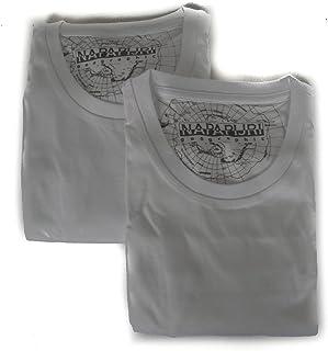 Pack de 2 Hombres Camiseta Manga Corta Cuello