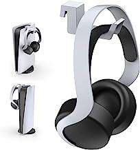 NexiGo PS5 Headphone Holder, [Minimalist Design] Mini Headphone Hanger with Aluminum Supporting Bar, for Sony Playstation ...